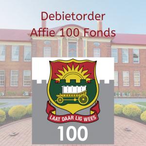 Affie 100 fonds debiet order skakel