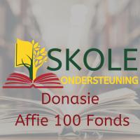 Skole ondersteuning Donasie affie 100 fonds hooffoto